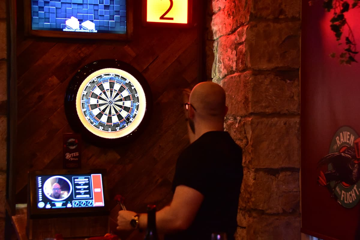 Electric Darts Night Out Glasgow Book Here