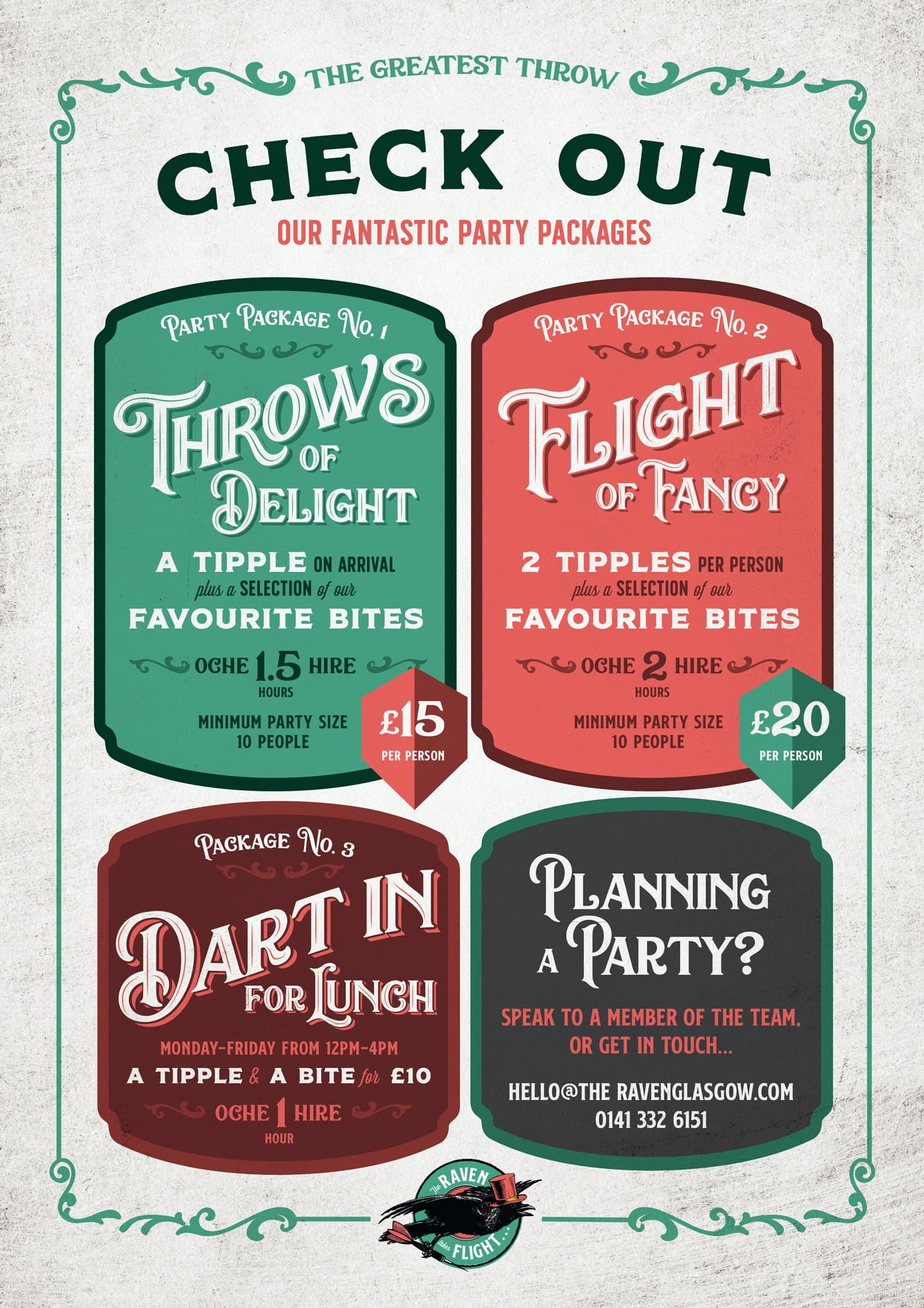 Darts Packages